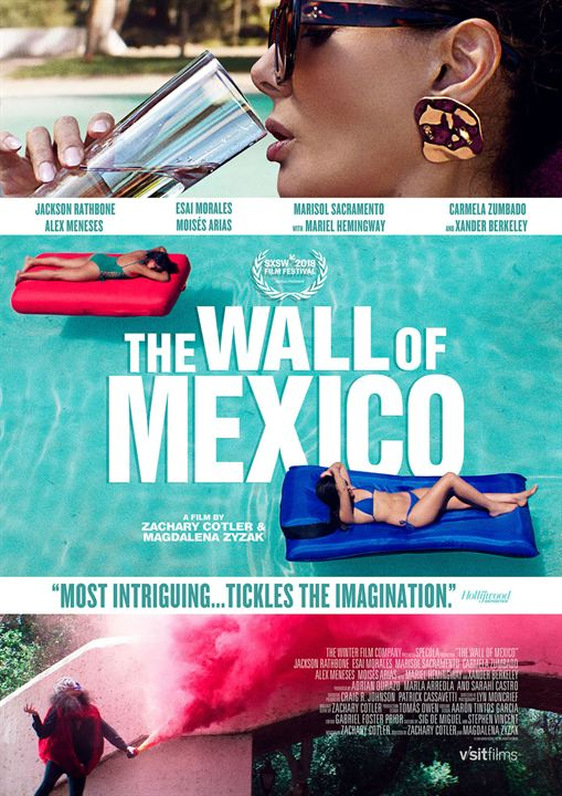 The Wall of Mexico : Poster