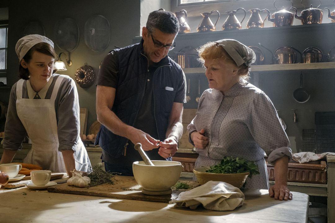 Downton Abbey - O Filme : Foto Lesley Nicol, Michael Engler, Sophie McShera