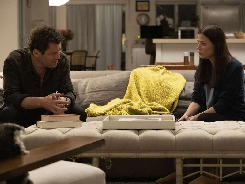Foto Dominic West, Maura Tierney