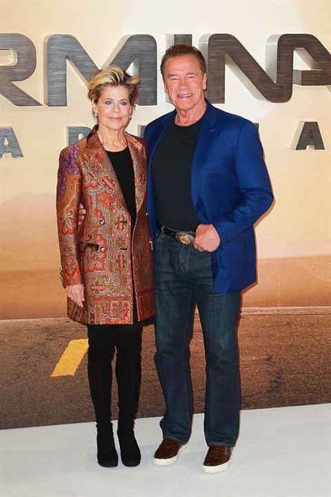 O Exterminador do Futuro: Destino Sombrio : Vignette (magazine) Arnold Schwarzenegger, Linda Hamilton