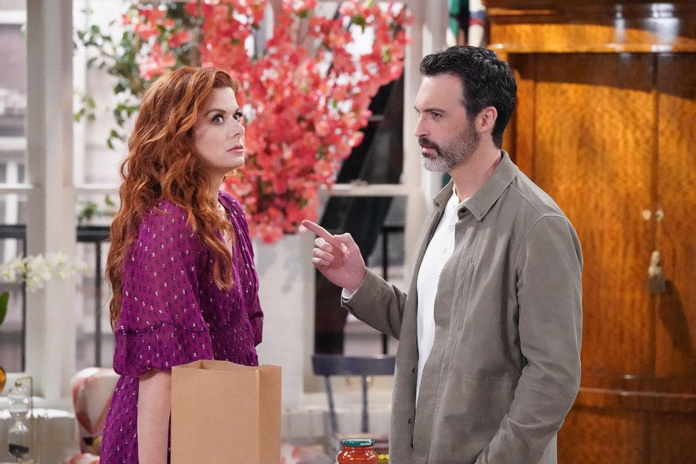 Foto Debra Messing, Reid Scott