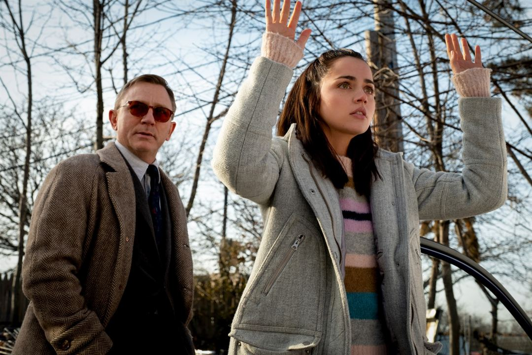 Entre Facas e Segredos: Ana de Armas, Daniel Craig