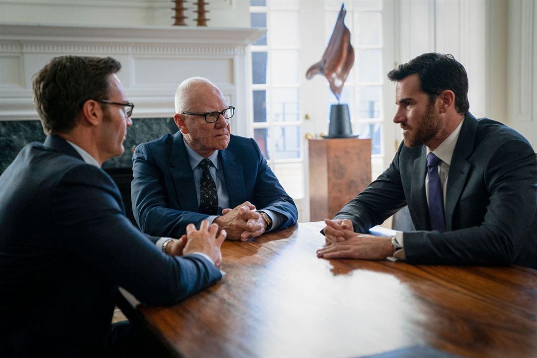 O Escândalo : Foto Ben Lawson, Josh Lawson, Malcolm McDowell