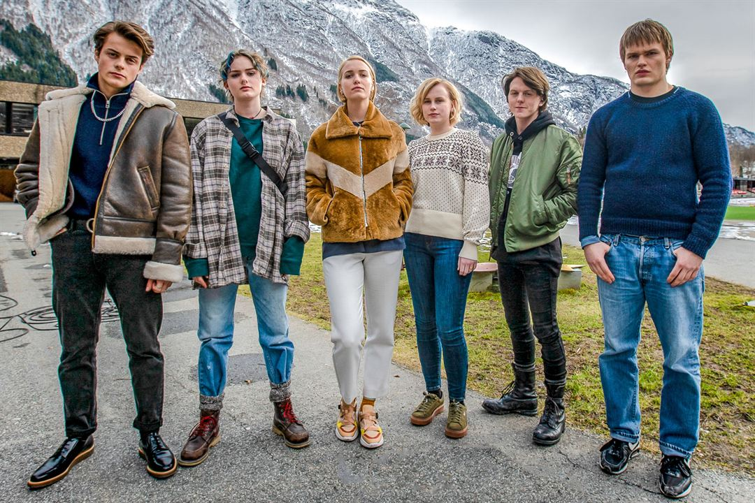 Foto David Stakston, Herman Tømmeraas, Jonas Strand Gravli, Theresa Frostad Eggesbø