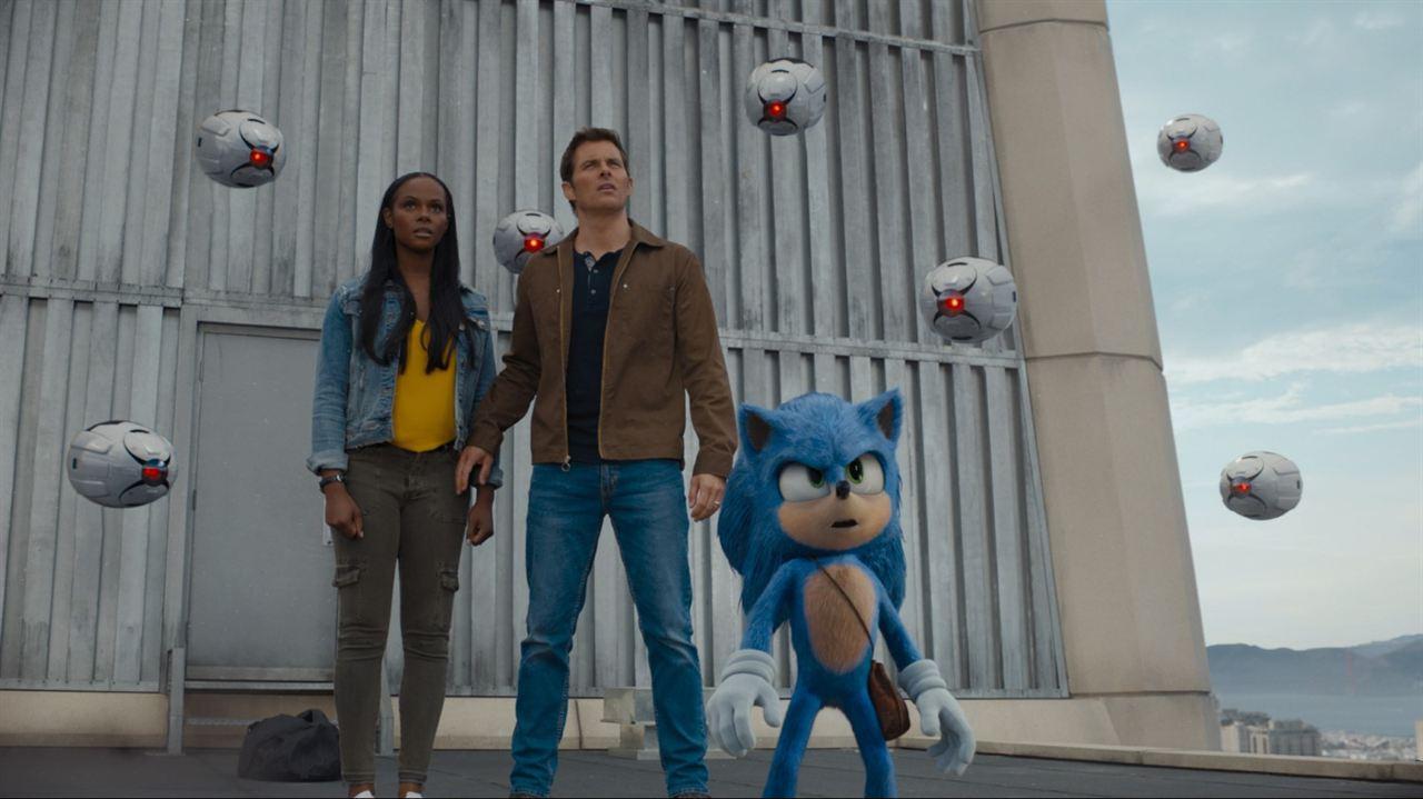 Sonic - O Filme : Foto James Marsden, Tika Sumpter
