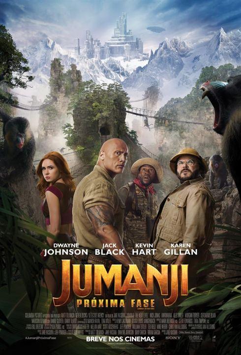 Jumanji: Próxima Fase : Poster