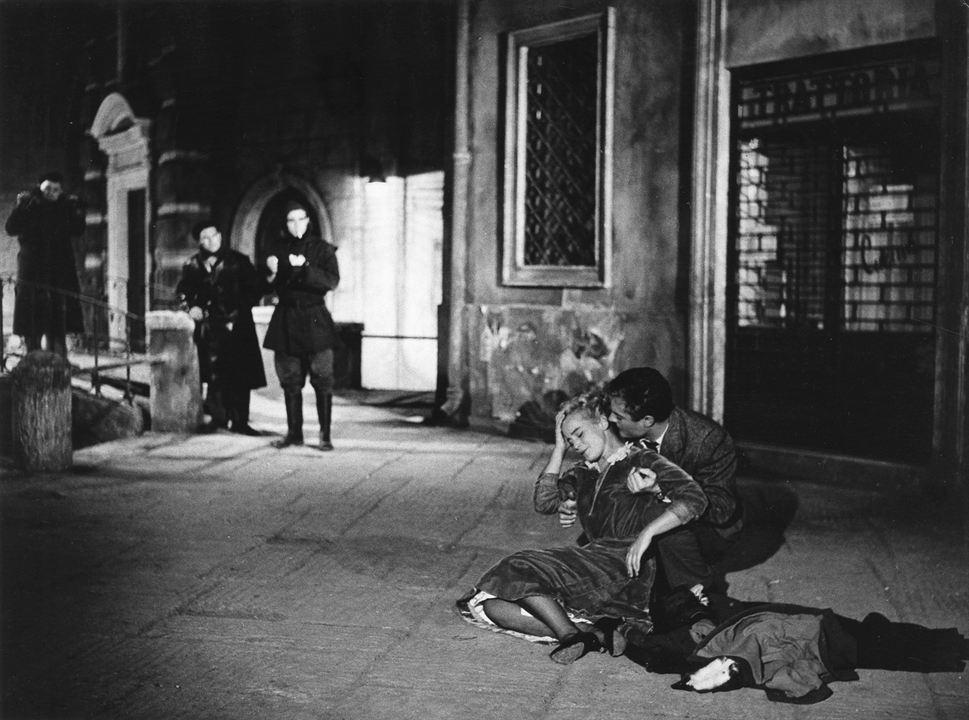 Um Rosto na Noite : Foto Marcello Mastroianni, Maria Schell