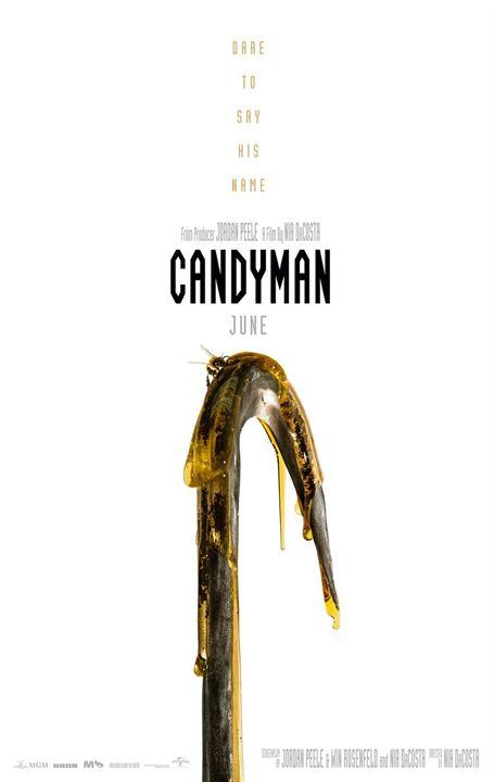 A Lenda de Candyman : Poster