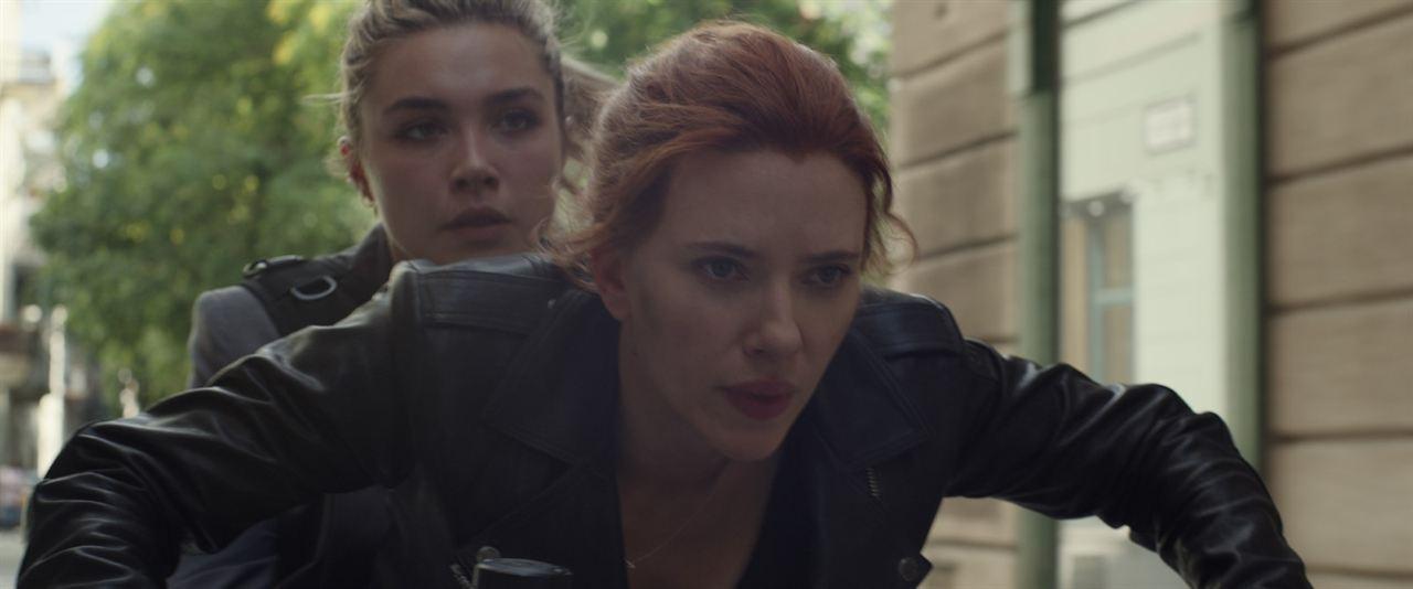 Viúva Negra : Foto Florence Pugh, Scarlett Johansson