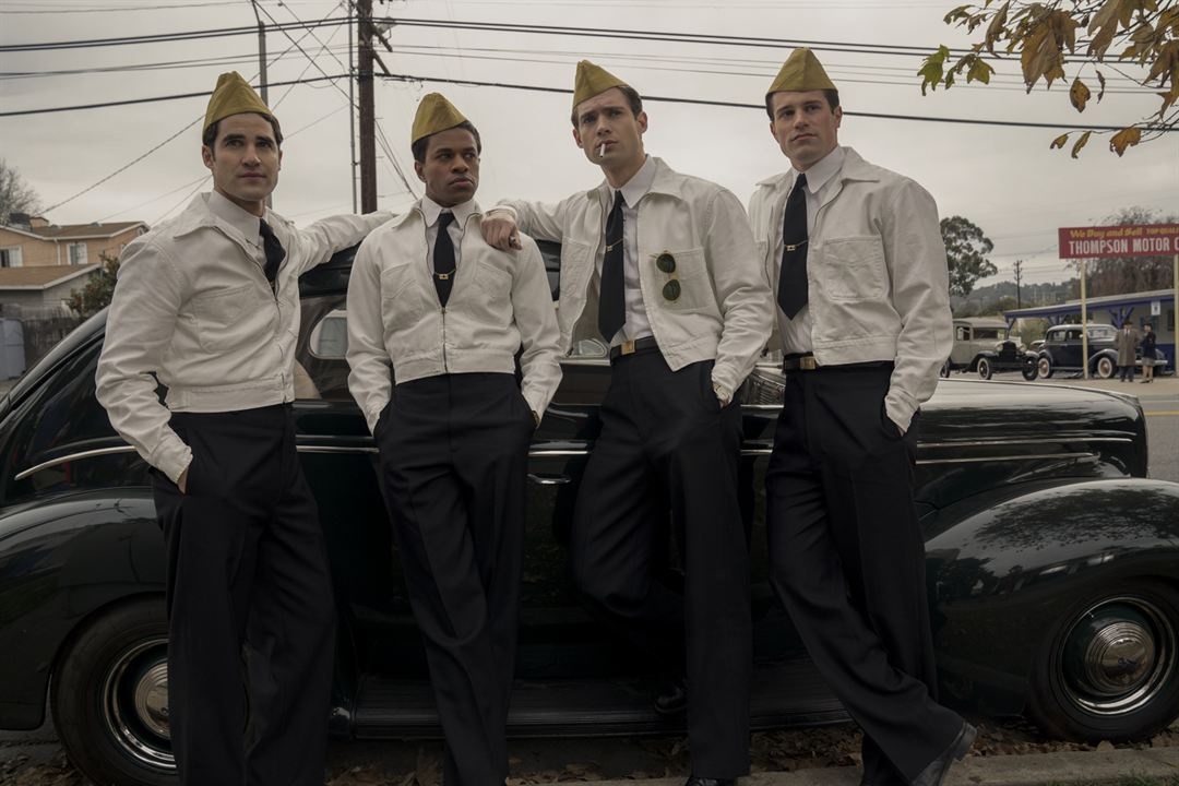 Foto Darren Criss, David Corenswet, Jake Picking, Jeremy Pope