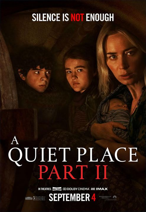 Um Lugar Silencioso - Parte II : Poster