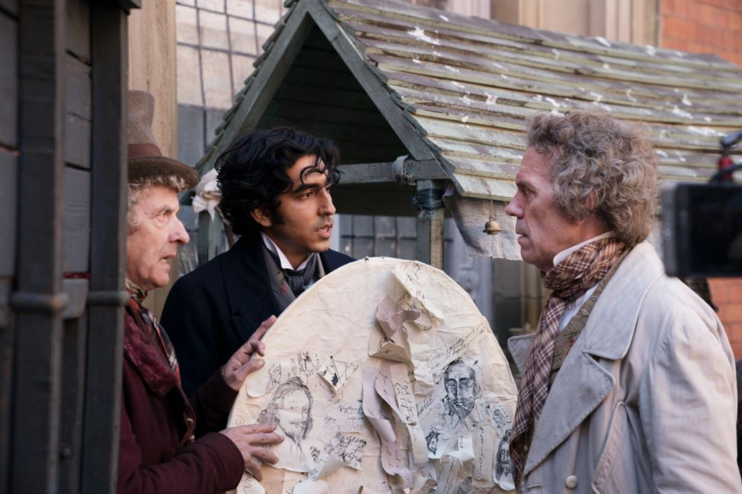 The Personal History Of David Copperfield : Foto Dev Patel, Hugh Laurie, Peter Capaldi