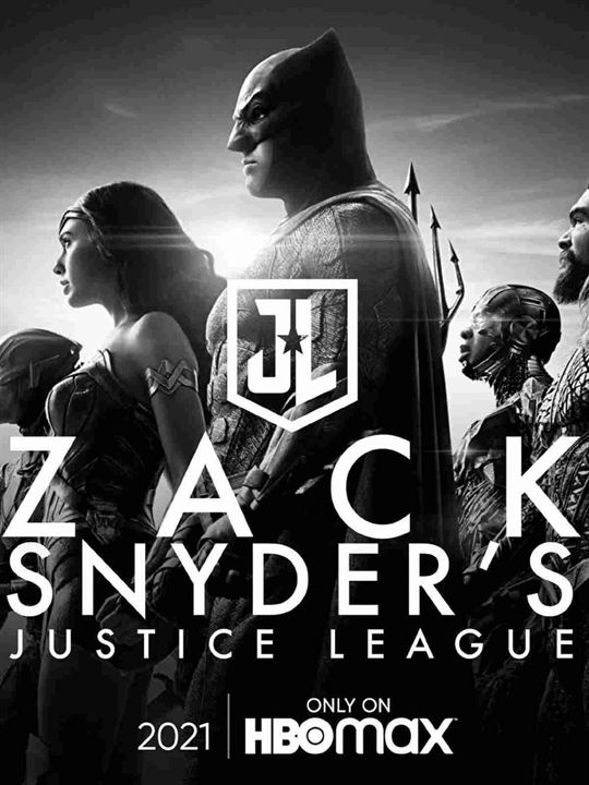 Zack Snyder's Justice League : Poster