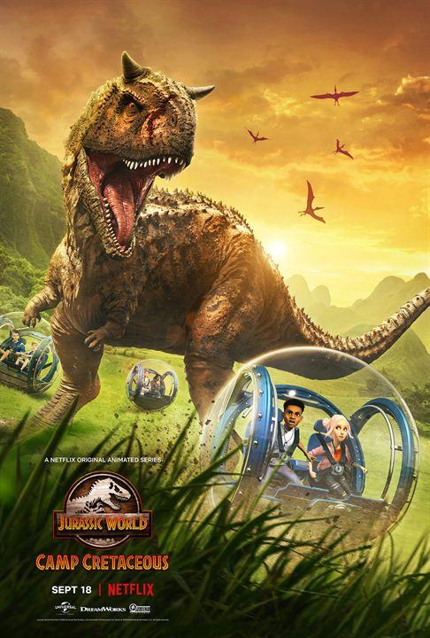 Jurassic World: Acampamento Jurássico : Poster