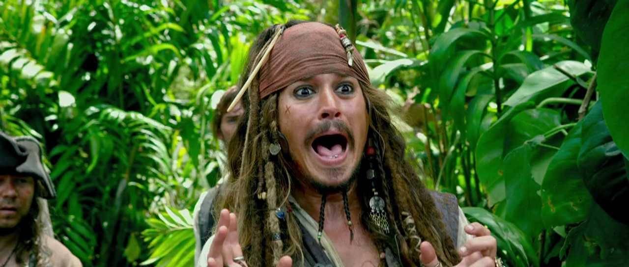 Piratas do Caribe - Navegando em Águas Misteriosas : Foto Johnny Depp