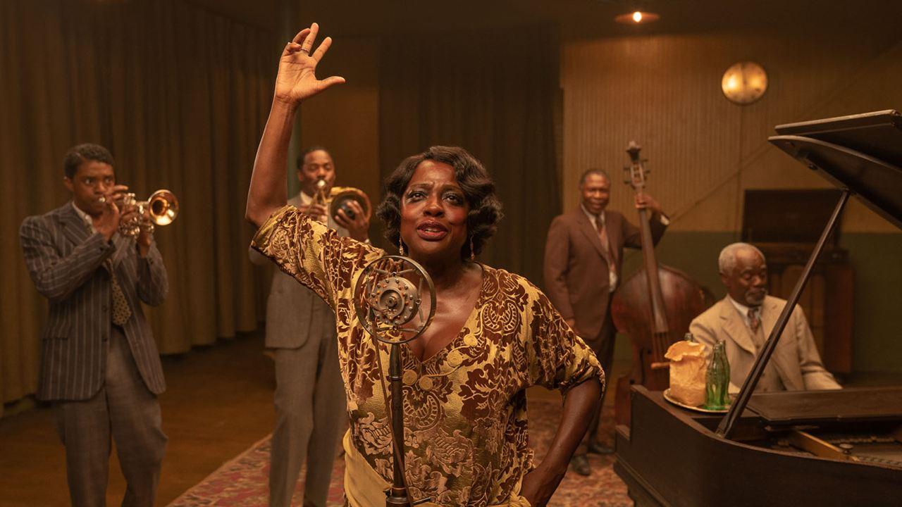 A Voz Suprema do Blues : Foto Chadwick Boseman, Colman Domingo, Glynn Turman, Viola Davis