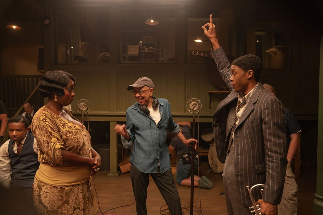 A Voz Suprema do Blues : Foto Chadwick Boseman, George C. Wolfe