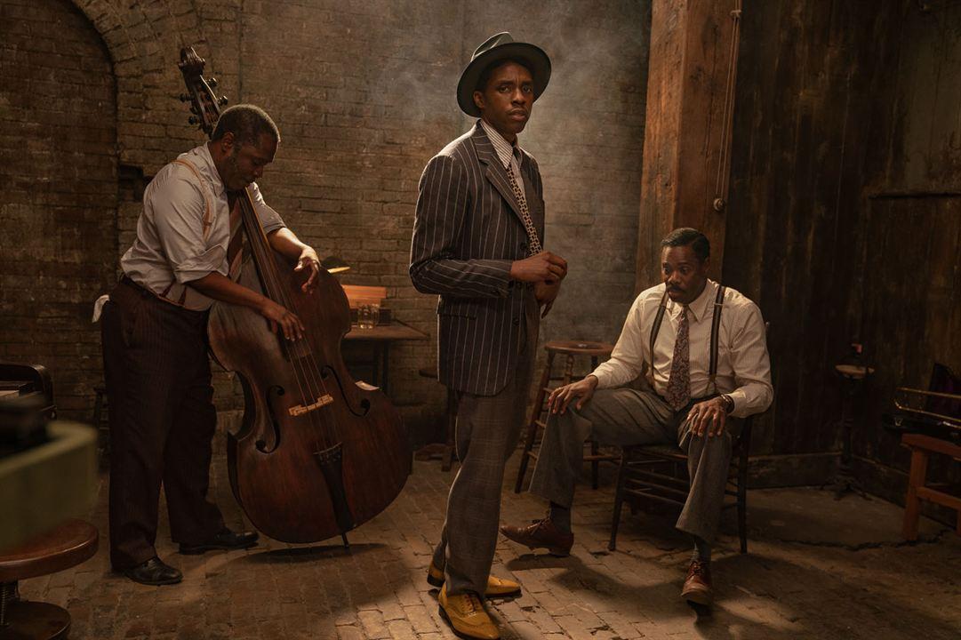 A Voz Suprema do Blues : Foto Chadwick Boseman, Colman Domingo, Glynn Turman