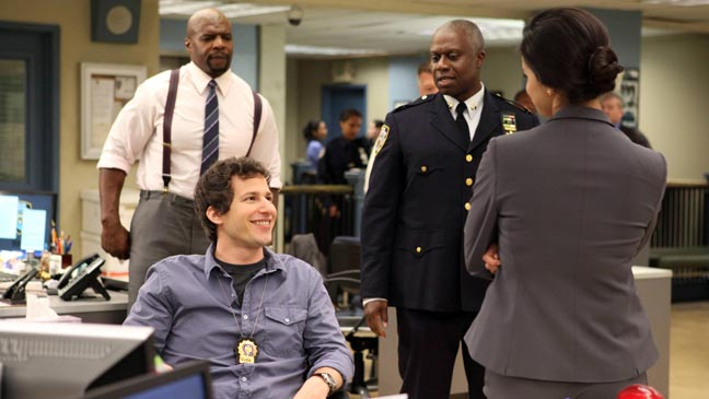 Brooklyn Nine-Nine : Foto Andre Braugher, Andy Samberg, Terry Crews