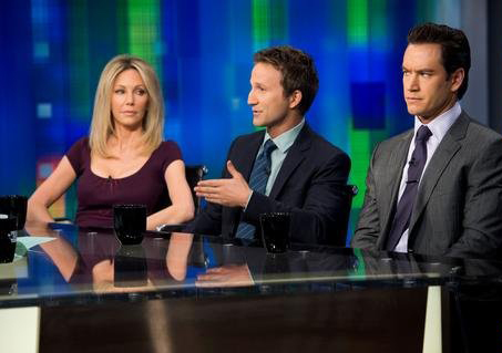 Foto Breckin Meyer, Heather Locklear, Mark-Paul Gosselaar