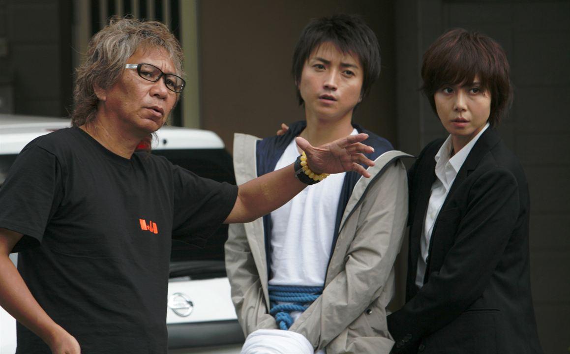 Escudo de Palha : Foto Nanako Matsushima, Takashi Miike, Tatsuya Fujiwara
