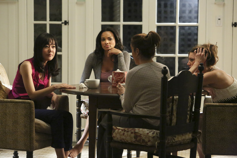 Foto Alyssa Milano, Jes Macallan, Rochelle Aytes, Yunjin Kim