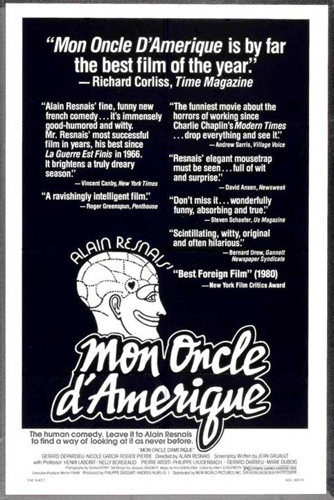 Meu Tio da América : Poster