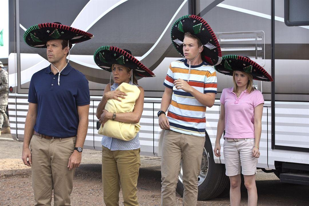 Família do Bagulho : Foto Emma Roberts, Jason Sudeikis, Jennifer Aniston, Will Poulter