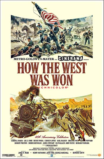 A Conquista do Oeste : Poster
