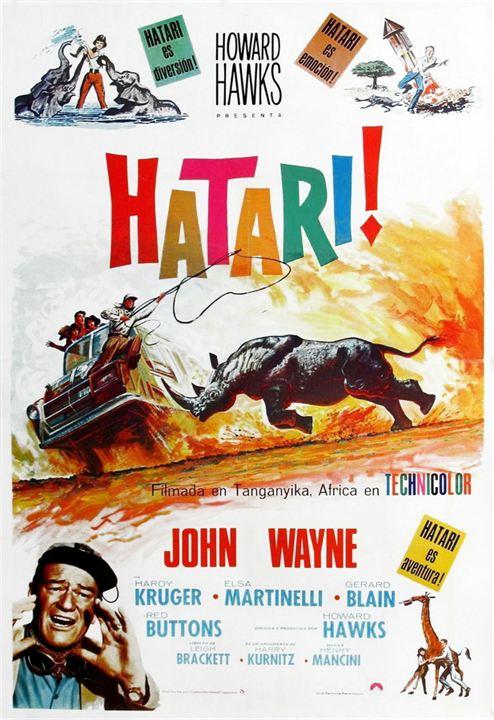 Hatari! : Poster