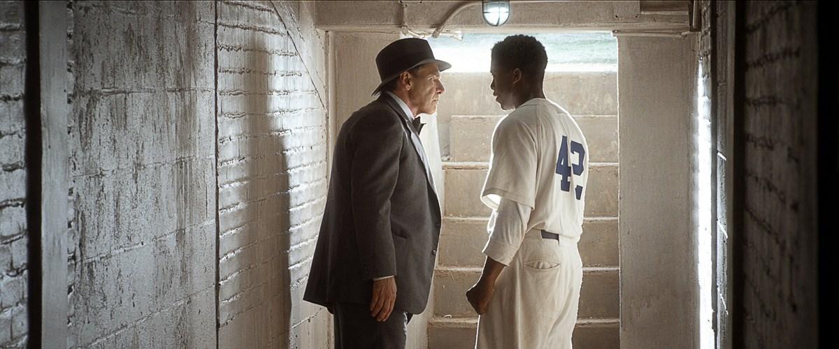 42 - A História De Uma Lenda: Chadwick Boseman, Harrison Ford