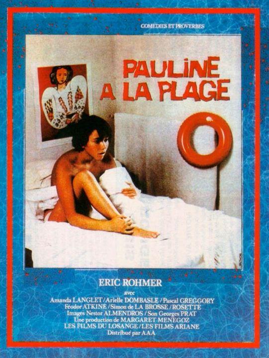 Pauline na Praia : Poster