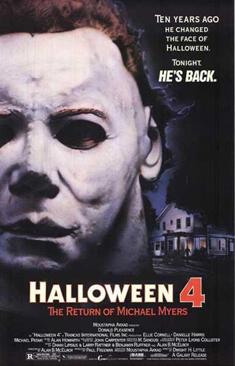 Halloween IV - O Dia das Bruxas : Poster