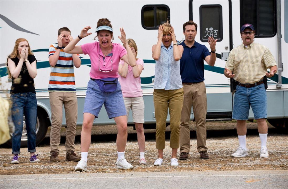 Família do Bagulho : Foto Emma Roberts, Jason Sudeikis, Jennifer Aniston, Kathryn Hahn, Nick Offerman