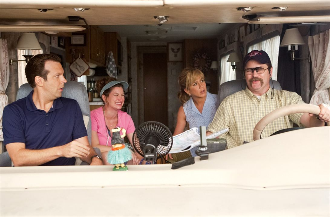 Família do Bagulho : Foto Jason Sudeikis, Jennifer Aniston, Kathryn Hahn, Nick Offerman