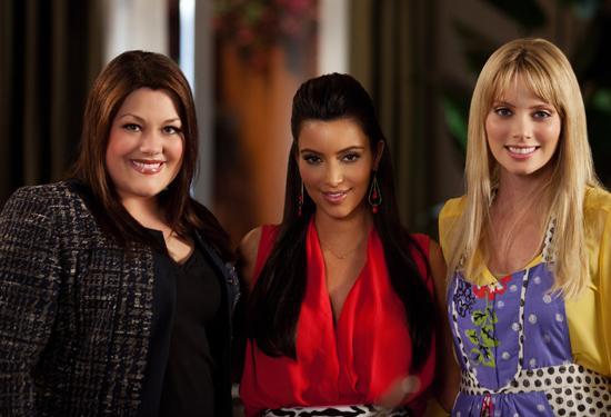 Foto April Bowlby, Brooke Elliott, Kim Kardashian
