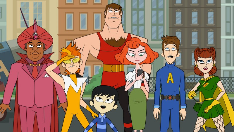 The Awesomes : Foto