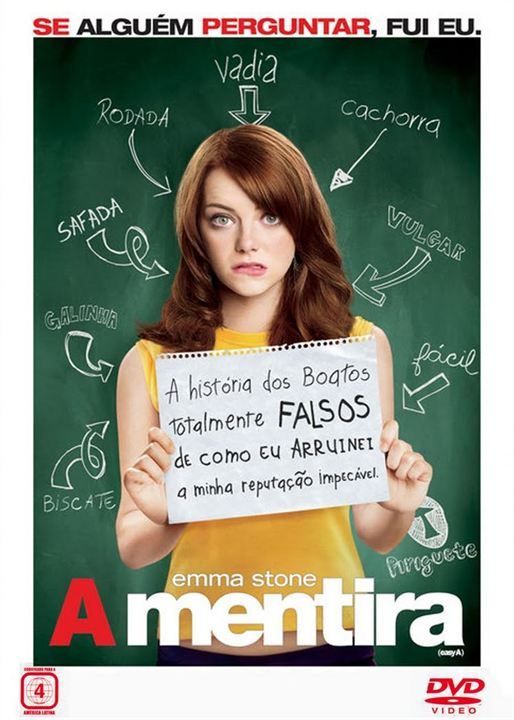 A Mentira : Poster