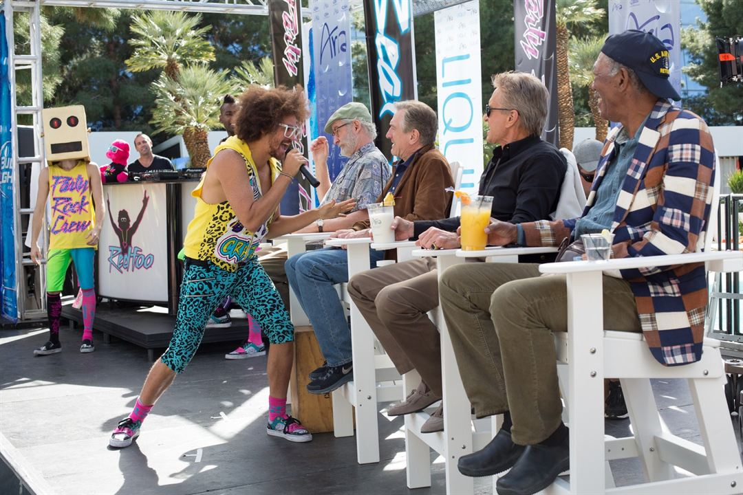 Última Viagem a Vegas : Foto Kevin Kline, Michael Douglas, Morgan Freeman, Robert De Niro
