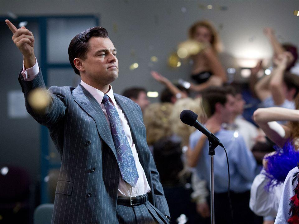 O Lobo de Wall Street : Foto Leonardo DiCaprio