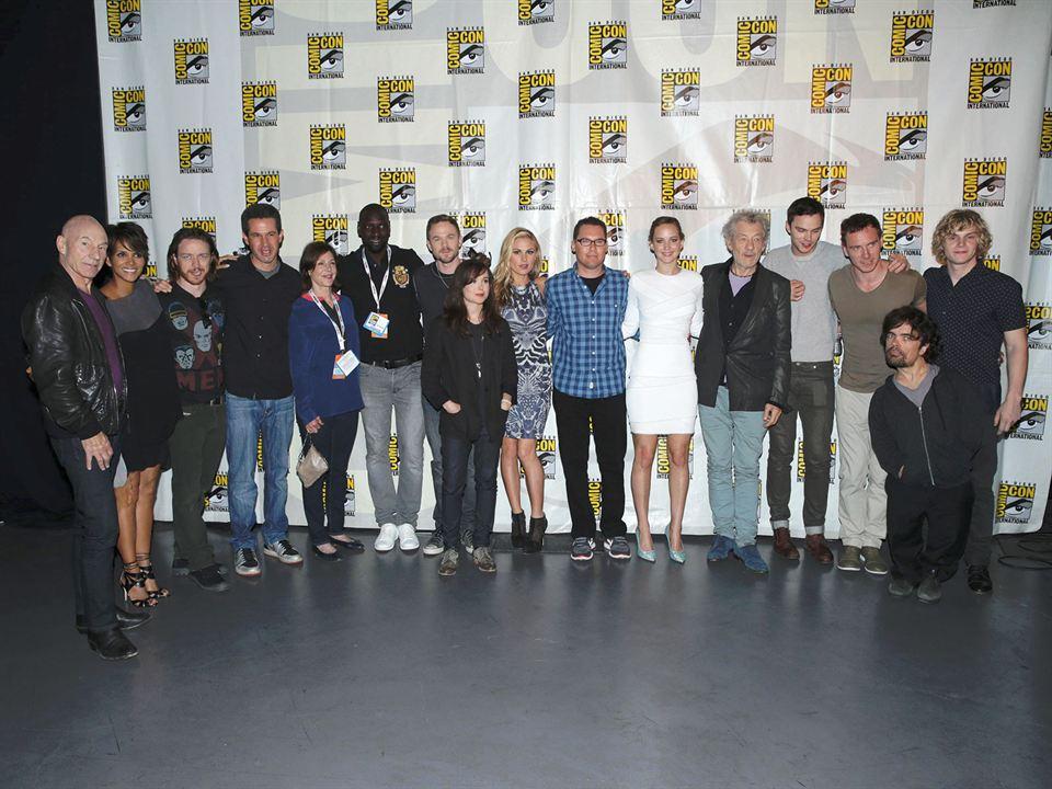 X-Men: Dias de um Futuro Esquecido : Vignette (magazine) Bryan Singer, Elliot Page, Evan Peters, Halle Berry, Ian McKellen