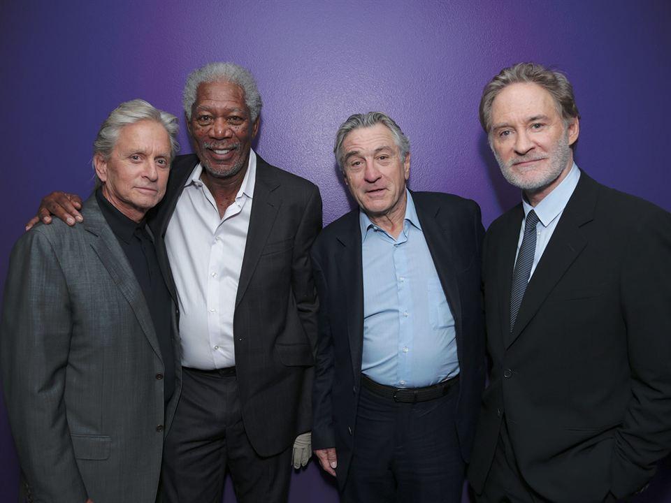 Última Viagem a Vegas : Vignette (magazine) Kevin Kline, Michael Douglas, Morgan Freeman, Robert De Niro