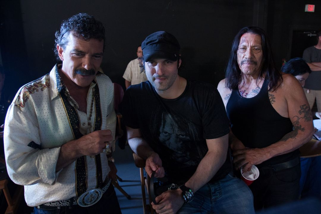 Machete Mata : Foto Antonio Banderas, Danny Trejo, Robert Rodriguez
