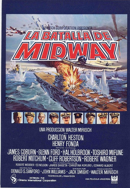 A Batalha de Midway : Poster