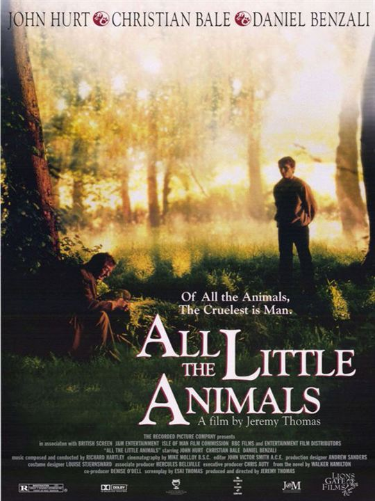 All the Little Animals : Poster