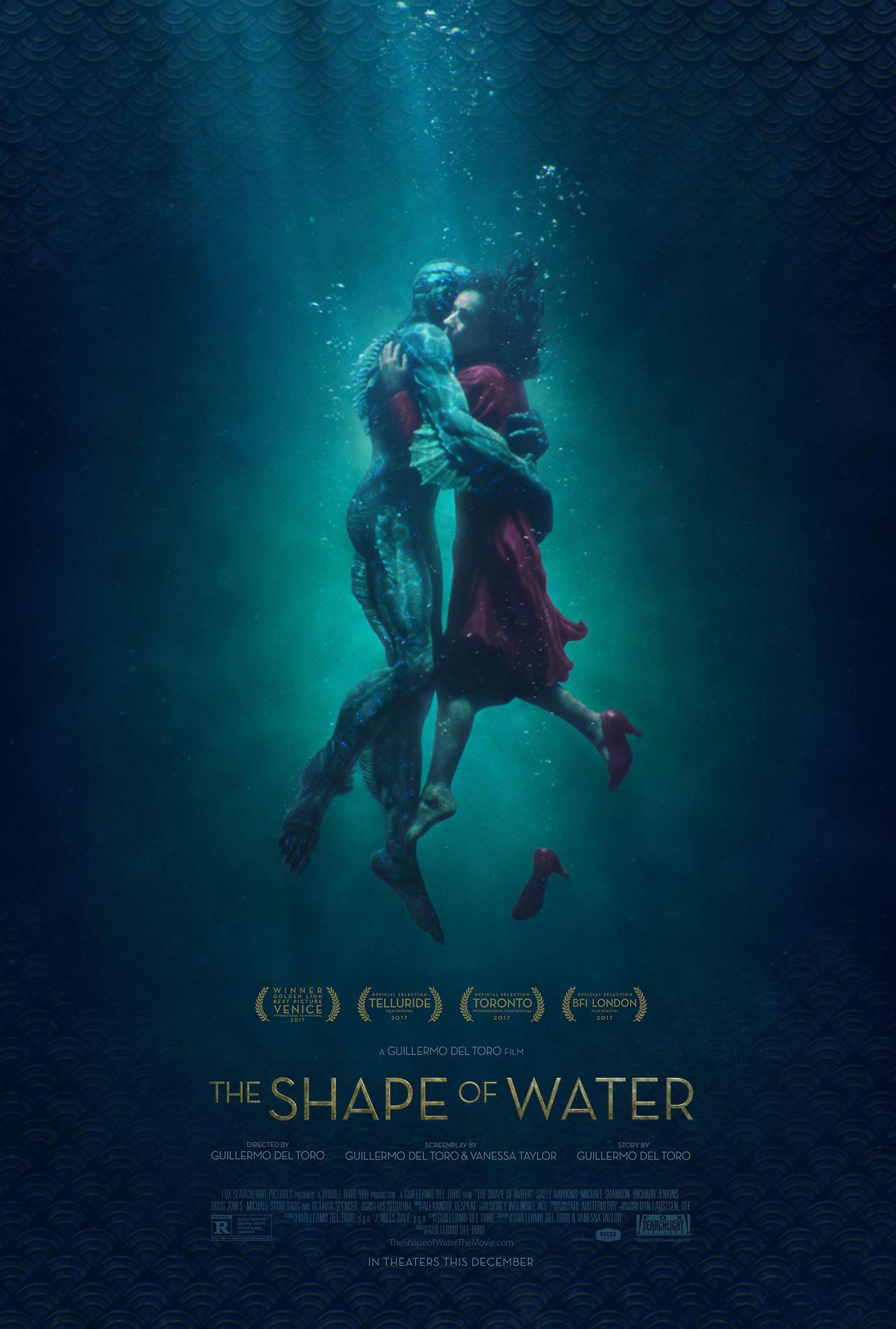 Image result for cinema a forma da água