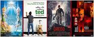 Tinker Bell, Ted e Dredd são as maiores estreias deste fim de semana