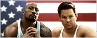 Mark Wahlberg e Dwayne Johnson no novo pôster de Pain and Gain