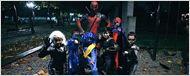 Deadpool passou o Halloween trollando pequenos X-Men