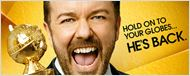 Ricky Gervais é o destaque do novo cartaz promocional do Globo de Ouro 2016
